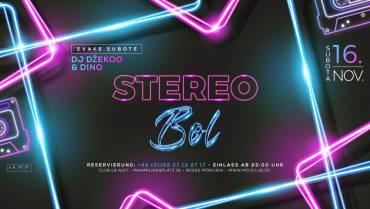 Stereo bol